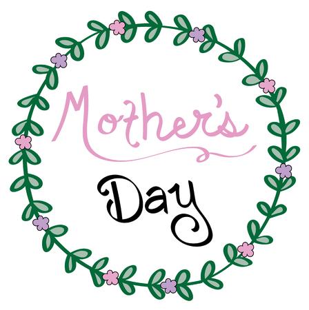 Mothers day. Иллюстрация
