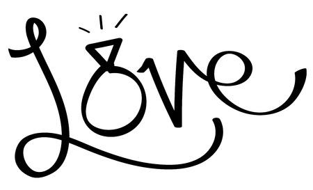 Love Ring Illustration