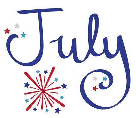 fire works: July Fireworks