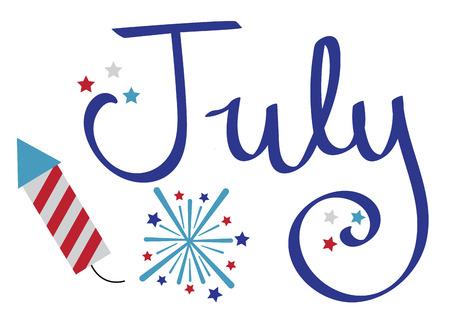 fire works: July Celebration