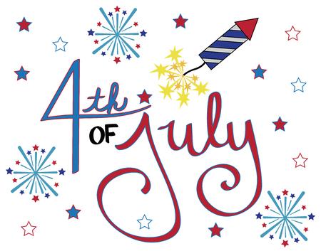 fire works: 4th of July Celebration