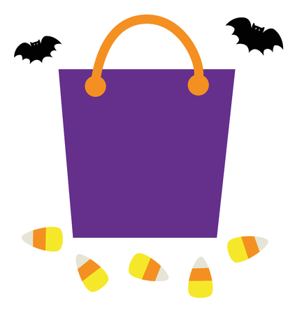 goody: Trick or Treat Goodie Bag vector