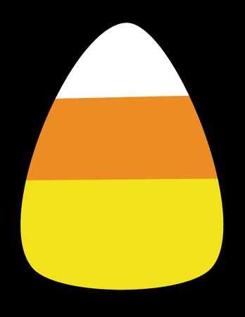 Halloween Candy Corn vector