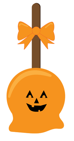 Happy Halloween Candy vector Illustration