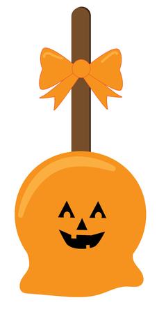 Happy Halloween Candy vector Illustration