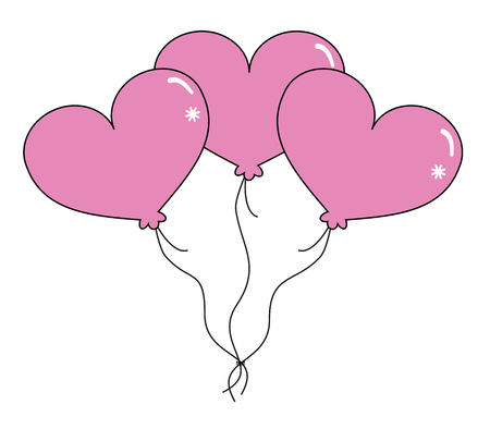 Happy Valentine's Day Balloons
