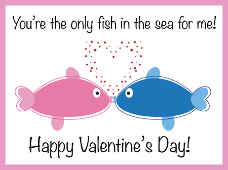 Happy Valentines Day Fish