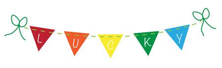 Lucky Saint Patricks Banner 向量圖像