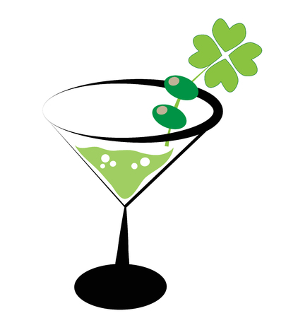Saint Patricks Day Drink Фото со стока - 96676329