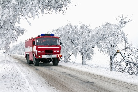 emergency lane: ride fire truck to standby action