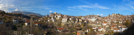 Panorama of traditional Ottoman town - Safranbolu, Turkey photo