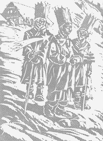 The three kings - Gaspar, Melchior, Balthazar - folk tradition Reklamní fotografie