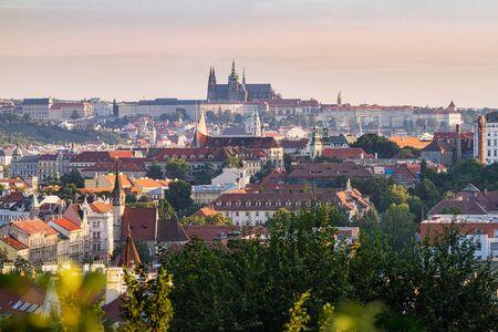 Hundred tower city - capital of Czech Republic Reklamní fotografie