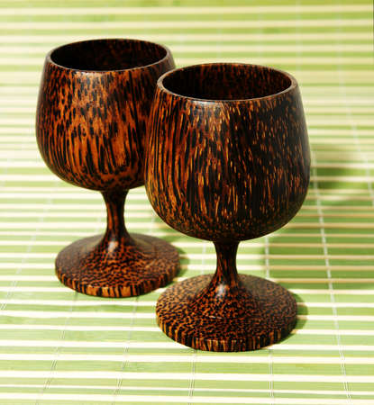 Traditional thai coconut glass. Nice strong and healthy.