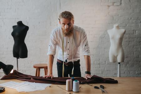 Man working in parlour