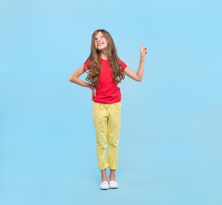 Dromend meisje dat benadrukt Stockfoto