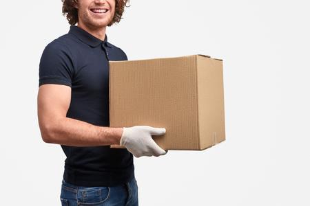 Repartidor de cultivos con caja