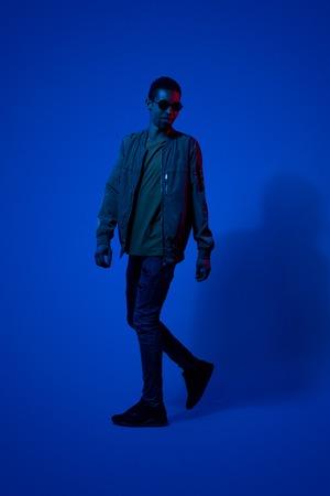 Full length portrait of african male model