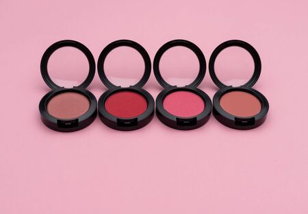 Compacts with bright rouges