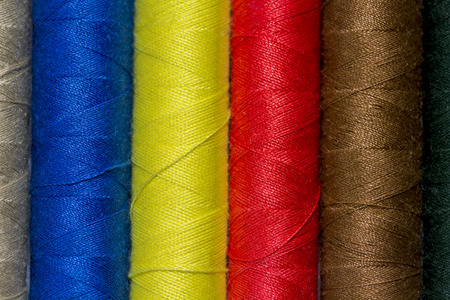 crinkly: Colored sewing thread.  Thread