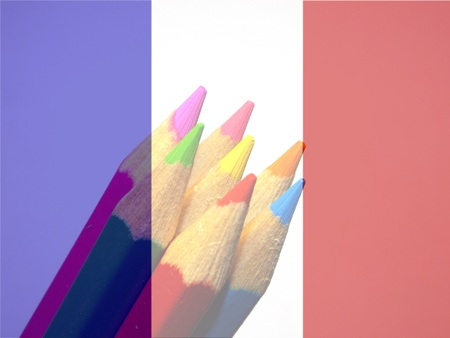 diagonally: Colored pencils of freedom