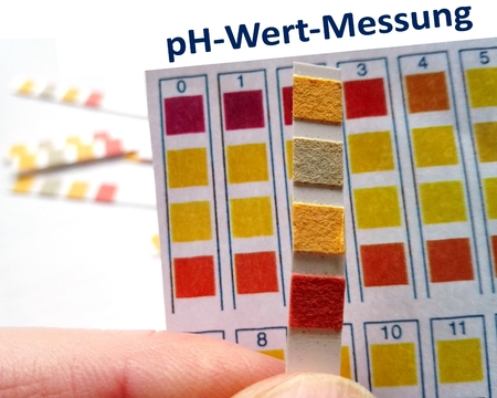 ions: PH value measurement - value Rods for measuring the acid content, pH (German version)