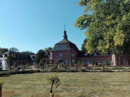 Castle Wickrath - Building of the castle of Castle Wickrath, Germany, Wickrath 10/12/2016
