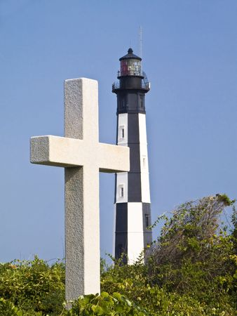 Cape Henry Cross and Lighthouse, Virginia