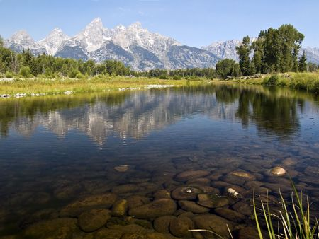 Schwabachers Landing, Grand Teton National Park