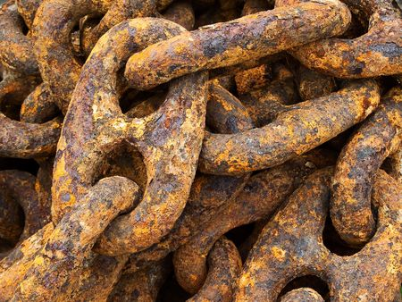 Rusty and Crusty Old Anchor Chain