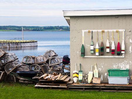 Fishing Village of North Rustico, PEI, Canada photo