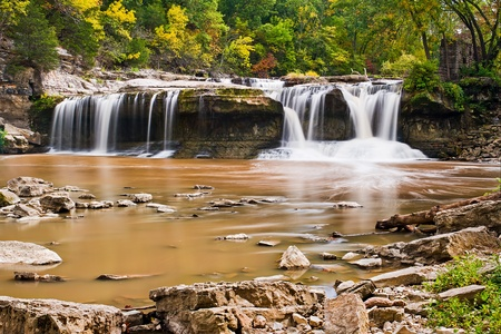 Upper Cataract Falls, Indiana photo