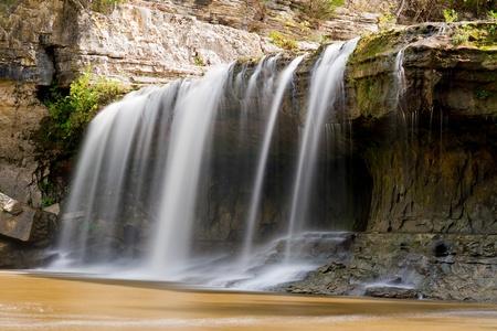 cataract falls: Upper Cataract Falls, Indiana Stock Photo