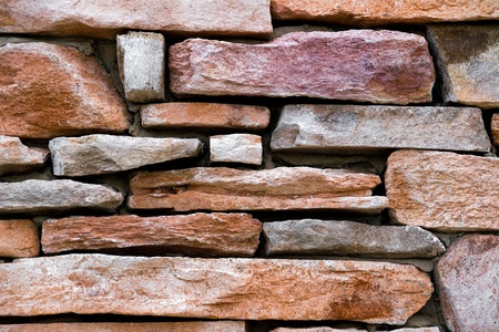 Colrful Sandstone Rock Wall Closeup Stock Photo - 13286811