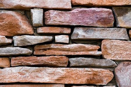 colrful: Colrful Sandstone Rock Wall Closeup