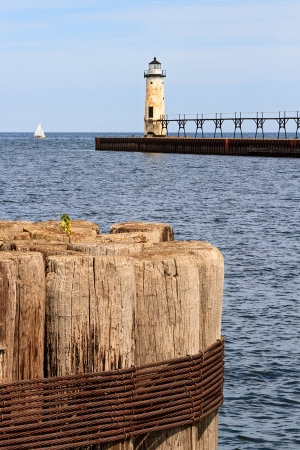 Manistee North Pierhead Lighthouse, Michigan