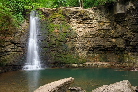 hayden: Hayden Falls, though secluded and unknown to many locals, is a waterfall located within the Columbus, Ohio metropolitan area (Dublin).
