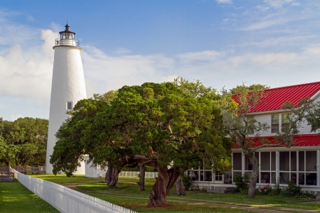 The Ocracoke Lighthouse and Keeper s Dwelling photo