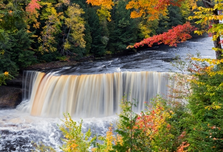 Tahquamenon Falls in Michigan photo