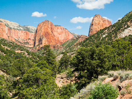 The Kolob Canyons District of Utah s Zion National Park
