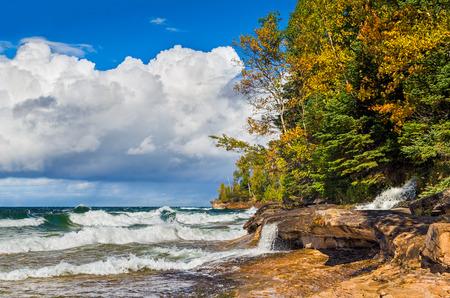 elliot: Elliot Falls, a waterfall in Michigan