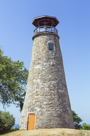Built in 1829, the Barcelona Lighthouse, also known as Portland Harbor Light, is a lighthouse overlooking Barcelona Harbor on Lake Erie in the Town of Westfield, New York.