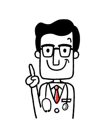 Werkende mensen, Beroep: Doctor, Doctor