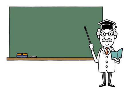 Dr .: Spiegato sulla lavagna