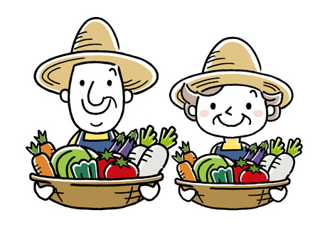 Agriculture, agriculteurs Banque d'images - 80785293