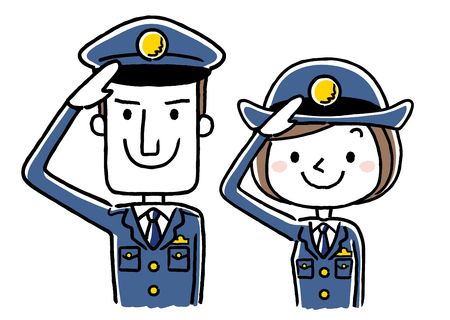 policeman Stock Illustratie