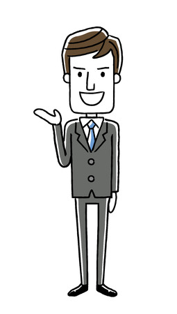 hotel staff: Male businessmen: guidance, introduction