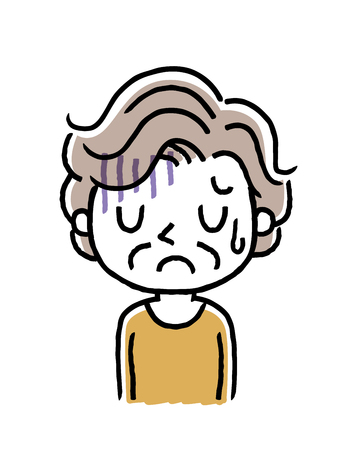 Senior woman: depressed, sad Banque d'images - 100971181