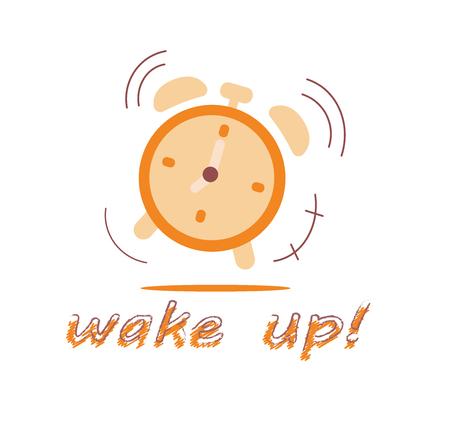 朝目覚まし時計