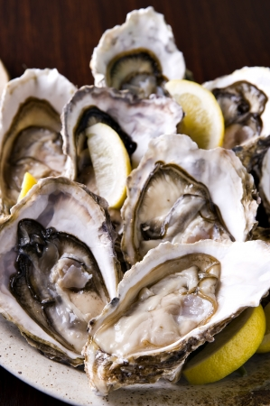 Oysters Stock Photo